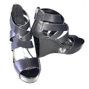 BEBE  Stella platform shoes